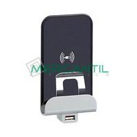 Base USB Tipo A y Recarga por Induccion Axolute BTICINO