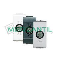 Base de TV Intermedia 1 Modulo Living Light BTICINO - 3 Colores