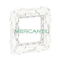 Bastidor Universal de Plastico 2 Modulos New Unica SCHNEIDER ELECTRIC