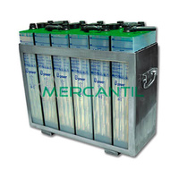 Bateria para Acumulacion 1000A por Carga 10 Horas UOPzS RETELEC