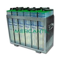 Bateria para Acumulacion 500A por Carga 10 Horas UOPzS RETELEC