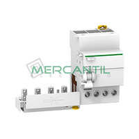 Bloque Diferencial 4P 40A VIGI iC60 Sector Industrial SCHNEIDER ELECTRIC