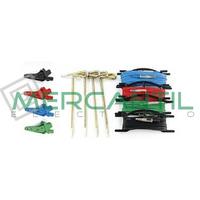 Bolsa con 4 Picas y 4 Cables con Cocodrilos KITTERR4 HT INSTRUMENTS