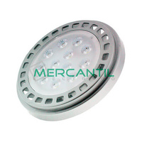 Bombilla LED 15W AR111 con Driver Externo IP20 LEDME