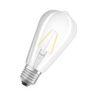Bombilla LED 2.5W E27 clara Parathom Edison Ledvance/Osram