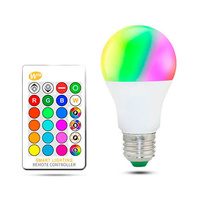 Bombilla LED RGB 10W E27/A60 IP20 LEDME