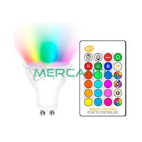 Bombilla LED RGB 5W GU10 IP20 LEDME