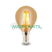 Bombilla LED de Filamento 4W E14/G45 IP20 LEDME