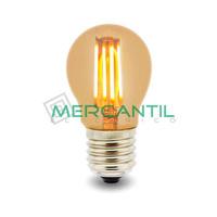 Bombilla LED de Filamento 4W E27/G45 IP20 LEDME