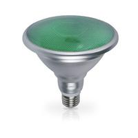 Bombilla decorativa LED 18W PAR38 verde GSC
