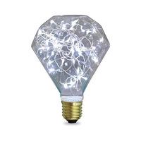 Bombilla diamond LED 2W E27 fria starlight GSC