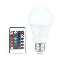 Bombilla estandar LED 6.5W E27 RGB con mando GSC