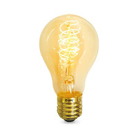 Bombilla estandar decorativa vintage LED 40W E27 regulable incandescencia GSC