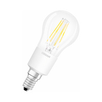 Bombilla filamento esferica LED 6W E14 clara Parathom Retrofit Classic P Ledvance/Osram