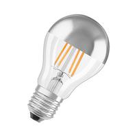 Bombilla filamento estandar LED 7W E27 cupula plata Parathom Classic A Mirror Silver Ledvance/Osram
