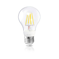 Bombilla filamento estandar decorativa LED 4W E27 oro GSC