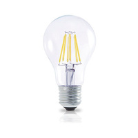 Bombilla filamento estandar decorativa LED 6W E27 oro GSC