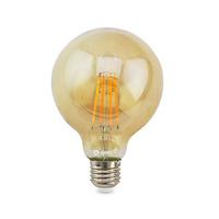 Bombilla filamento globo vintage decorativa LED 7W E27/G80 GSC