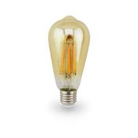 Bombilla filamento pera vintage decorativa LED 7W E27 GSC