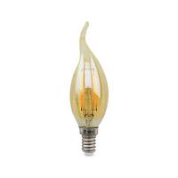 Bombilla filamento vela vintage decorativa LED 4W E14 soplo de viento GSC