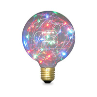 Bombilla globo LED 2W E27/G125 RGB GSC