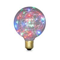 Bombilla globo LED 2W E27/G95 RGB GSC