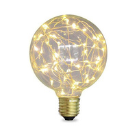 Bombilla globo LED 2W E27/G95 calida starlight GSC