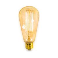 Bombilla pera decorativa vintage LED 40W E27 regulable incandescencia GSC