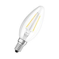 Bombilla vela LED 2.5W E14 clara Parathom Retrofit Classic B Ledvance/Osram