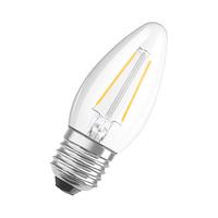 Bombilla vela LED 5W E27 clara regulable Parathom Dim Retrofit Classic B Ledvance/Osram