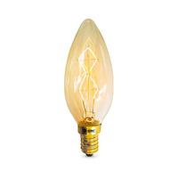 Bombilla vela decorativa vintage LED 40W E14 regulable incandescencia GSC