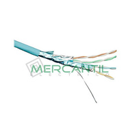 Cable F/FTP Categoria 6A LSZH EXCEL - Bobina 500 metros