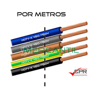 Cable Flexible de PVC 50mm 450/750V H07V-K CPR - Por Metros
