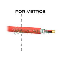 Cable PAR para Deteccion de Incendios HF Z1OZ1-K/AS 500V 2x1.5mm CERVI - por Metros