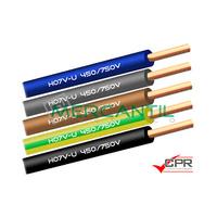 Cable Rigido de PVC 1.5mm 450/750V H07V-U CPR - 200 Metros