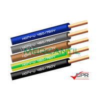 Cable Rigido de PVC 2.5mm 450/750V H07V-U CPR - 200 Metros