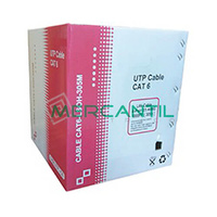 Cable UTP Categoria 6 LSZH KAI NETWORK - 305 metros