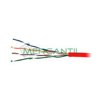 Cable de Red Categoria 5E UTP Rojo LSZH EXCEL - Caja 305 metros