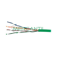 Cable de Red Categoria 5E UTP Verde LSZH EXCEL - Caja 305 metros