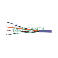 Cable de Red Categoria 5E UTP Violeta LSZH EXCEL - Caja 305 metros