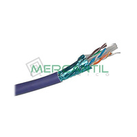 Cable de Red Categoria 6 FTP Violeta LSZH EXCEL - Caja 305 metros