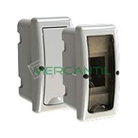 Caja ICP de Empotrar 1 Fila 2 Elementos 140x62x85 Arelos SOLERA