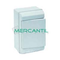 Caja ICP de Superficie 1 Fila 4 Elementos 188x115x55 Clasica SOLERA