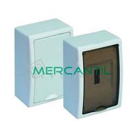 Caja ICP de Superficie 1 Fila 4 Elementos 225x150x95 Arelos SOLERA