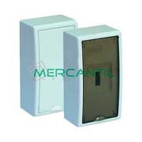 Caja ICP de Superficie 1 Fila 4 Elementos 300x165x95 Arelos SOLERA