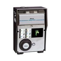 Caja autonoma con 1 toma 32A 7.2kW monofasico medidor de energia identificacion RFID Mifare certificado ZE modo 3 tipo 2 IP54 Simon