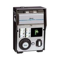 Caja autonoma con 2 tomas 1 schuko 16A 3.6kW + 1 schuko 32A 7.2kW monofasico RFID Mifare y certificado ZE modo 1/2/3 tipo 2 IP54 Simon