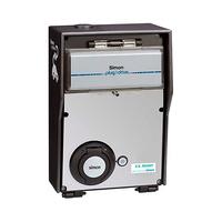 Caja basica con 1 toma 32A 22kW trifasico medidor de energia certificado ZE y bloqueo de toma modo 3 tipo 2 IP54 Simon