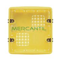 Caja de Empotrar para Albañileria 3+3 Modulos 108x118x51.5 Axolute BTICINO - Formato Rectangular