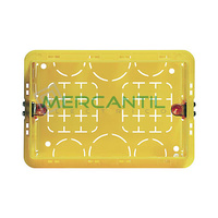 Caja de Empotrar para Albañileria 3 Modulos 540x75x110 Axolute BTICINO